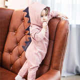 3D Dinosaur Cotton Romper for Boys and Girls