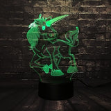 Unicorn LED Night Light 7 Green