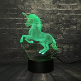 Unicorn LED Night Light Green