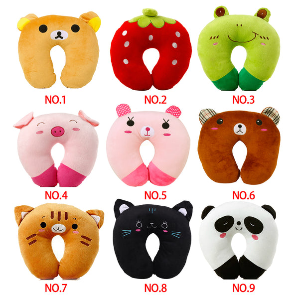U-shaped Plush Travel Pillow 9 styles