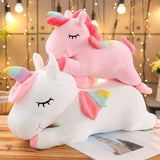 20-80cm Unicorn Plush Toy | Soft Stuffed Unicorn Soft Doll