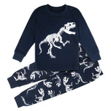 Dinosaur Pajamas Black