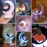Unicorn LED Moon Night Light for Babies