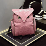 Owl Backpack Pink
