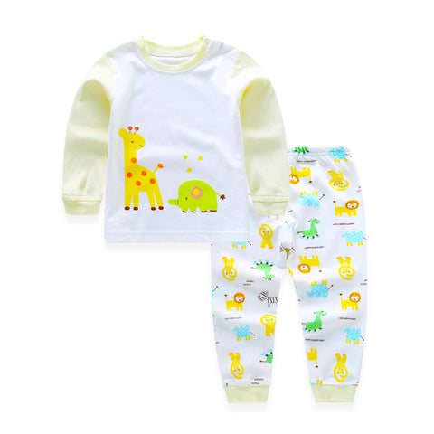 Toddler Sleepwear Giraffe and Elephant