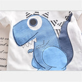 Dinosaur Outfit Blue
