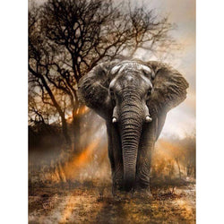 5D Elephant DIY Diamond Painting |  Cross Stitch Mosaic Art