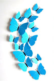Butterfly Wall Stickers Turquoise