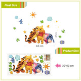 Friends with Winnie the Pooh Wall Stickers