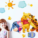 Winnie the Pooh Wall Decal with child