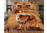 cotton bedding sets double lion