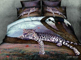 cotton bedding sets king size cheetah