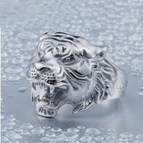 316L Stainless Steel Tiger Ring