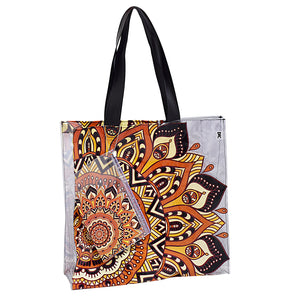 beach bag in pvc with exclusive design