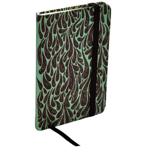 ModMaven Pocket Size Journal Hard Cover with Droplet Pattern