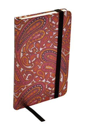 ModMaven Pocket Size Journal Hard Cover With Indian Highlight Pattern