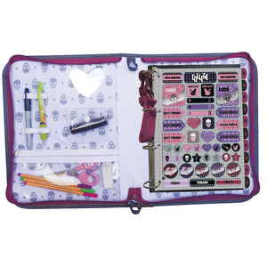 4 ring binder with zipper closure