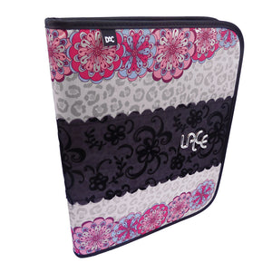 Ring Binder with Zipper Closure