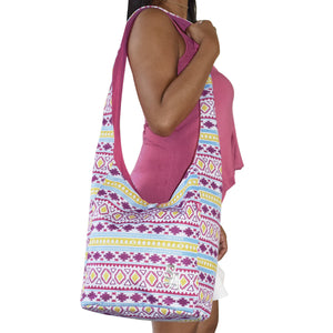 large shoulder bag good for school or beach