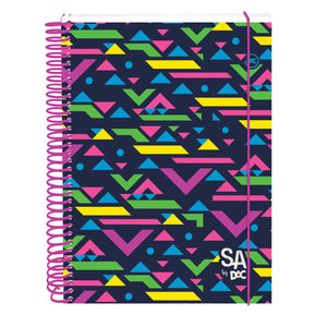 notebook with hot stamping decorative cover