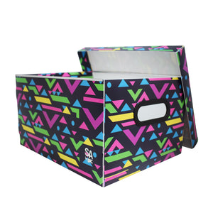 PP organizer box with exclusive pattern