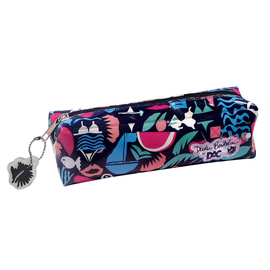 pencil case or necessaire with exclusive pattern