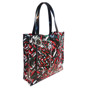 beach bag with exclusive pattern water proof