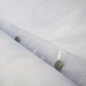 Polypropylene sheet protectors with 4 fasteners