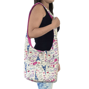 shoulder bag good for school or beach