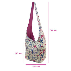 shoulder bag measurements