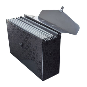 giant file case with 6 hanging folders in PP