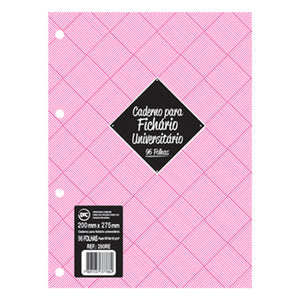 Refill for binder - white paper sheets