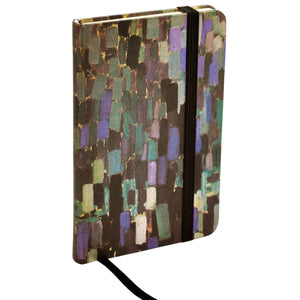ModMaven Medium Journal Hard Cover with Brush Stroke Pattern