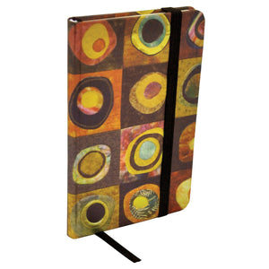 ModMaven Medium Journal Hard Cover with Circular Pattern