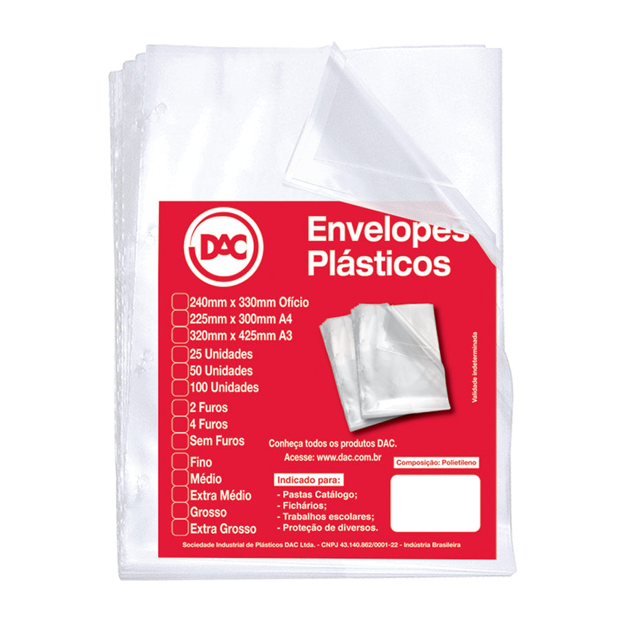 Polyethylene Envelopes for Refill
