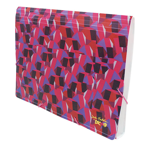 accordion file folder with 12 pockets of pp - Accordion Folder