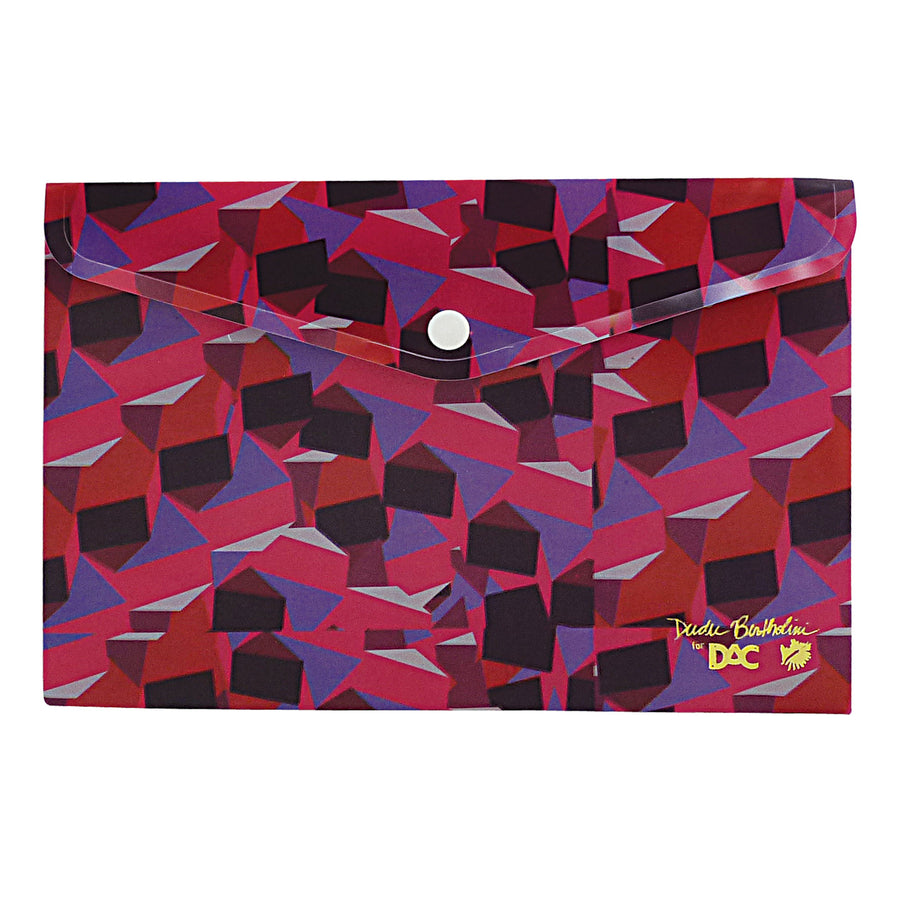 polypropylene envelope folder with exclusive pattern