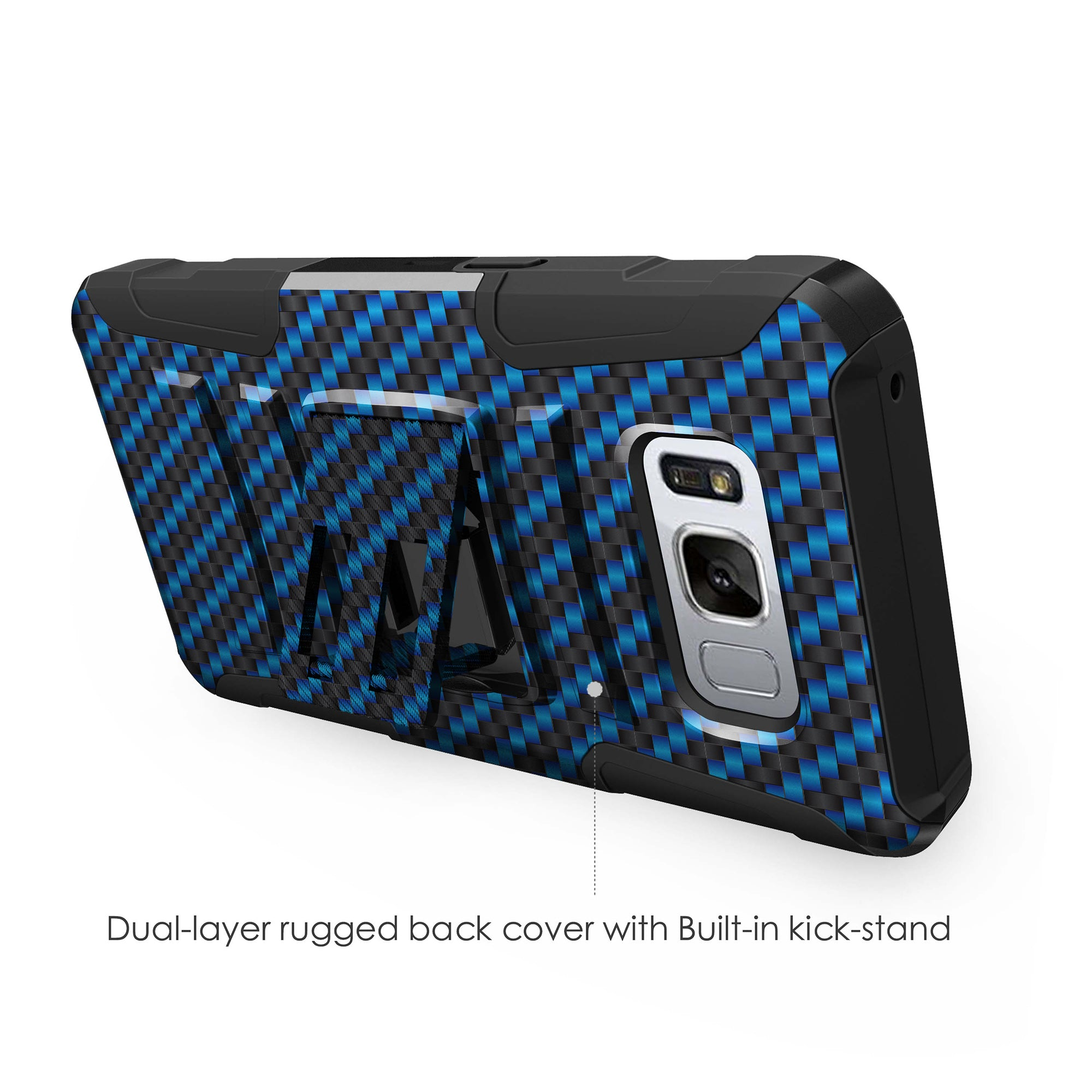 Case-for-Samsung-Galaxy-Note-5-Rugged-Dual-Layer-Holster-Combo-Stand thumbnail 11