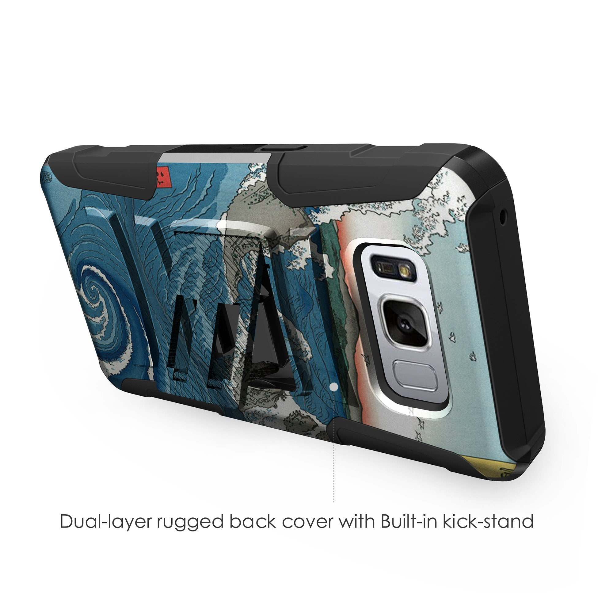 Case-for-Samsung-Galaxy-Note-5-Rugged-Dual-Layer-Holster-Combo-Stand thumbnail 14