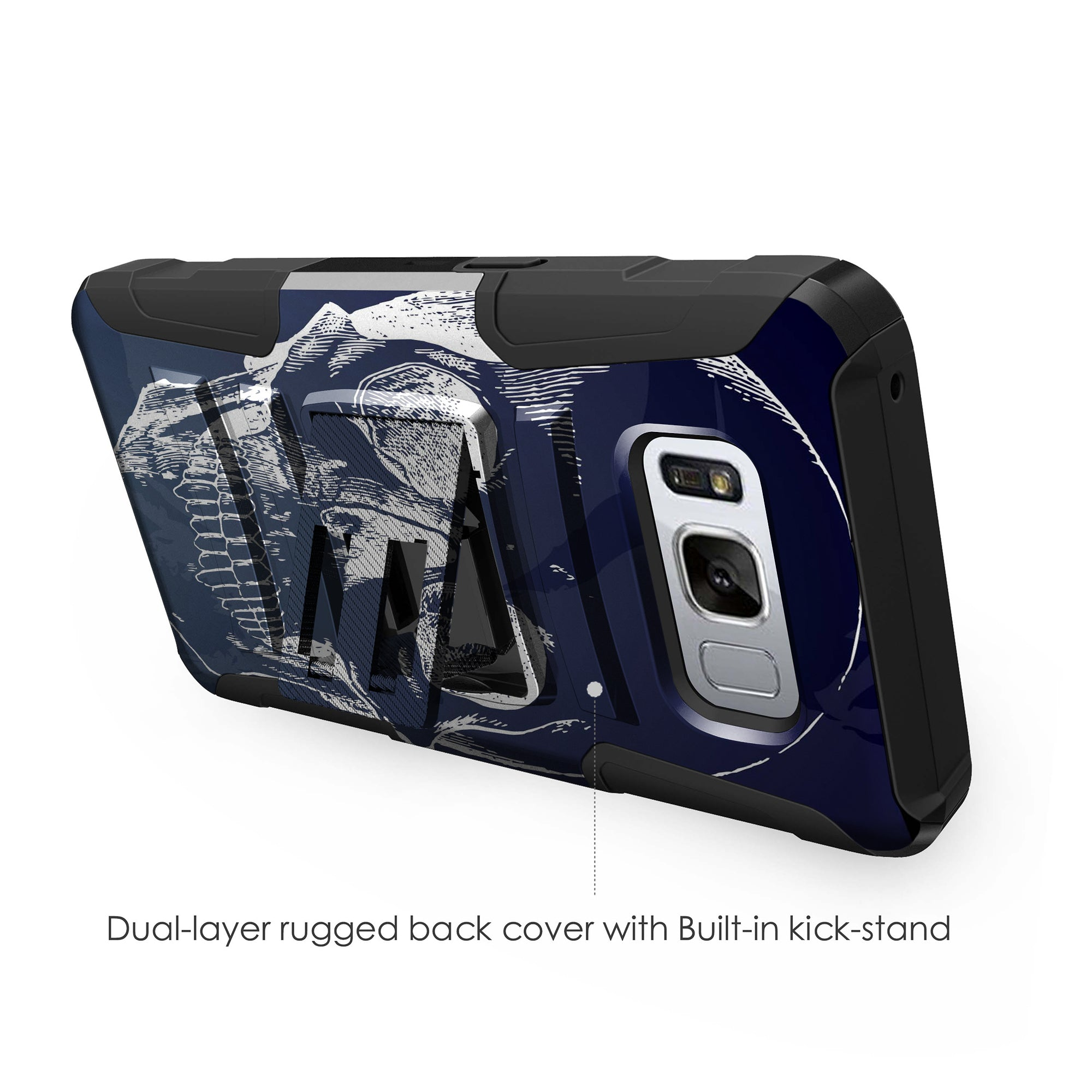 Case-for-Samsung-Galaxy-Note-5-Rugged-Dual-Layer-Holster-Combo-Stand thumbnail 20