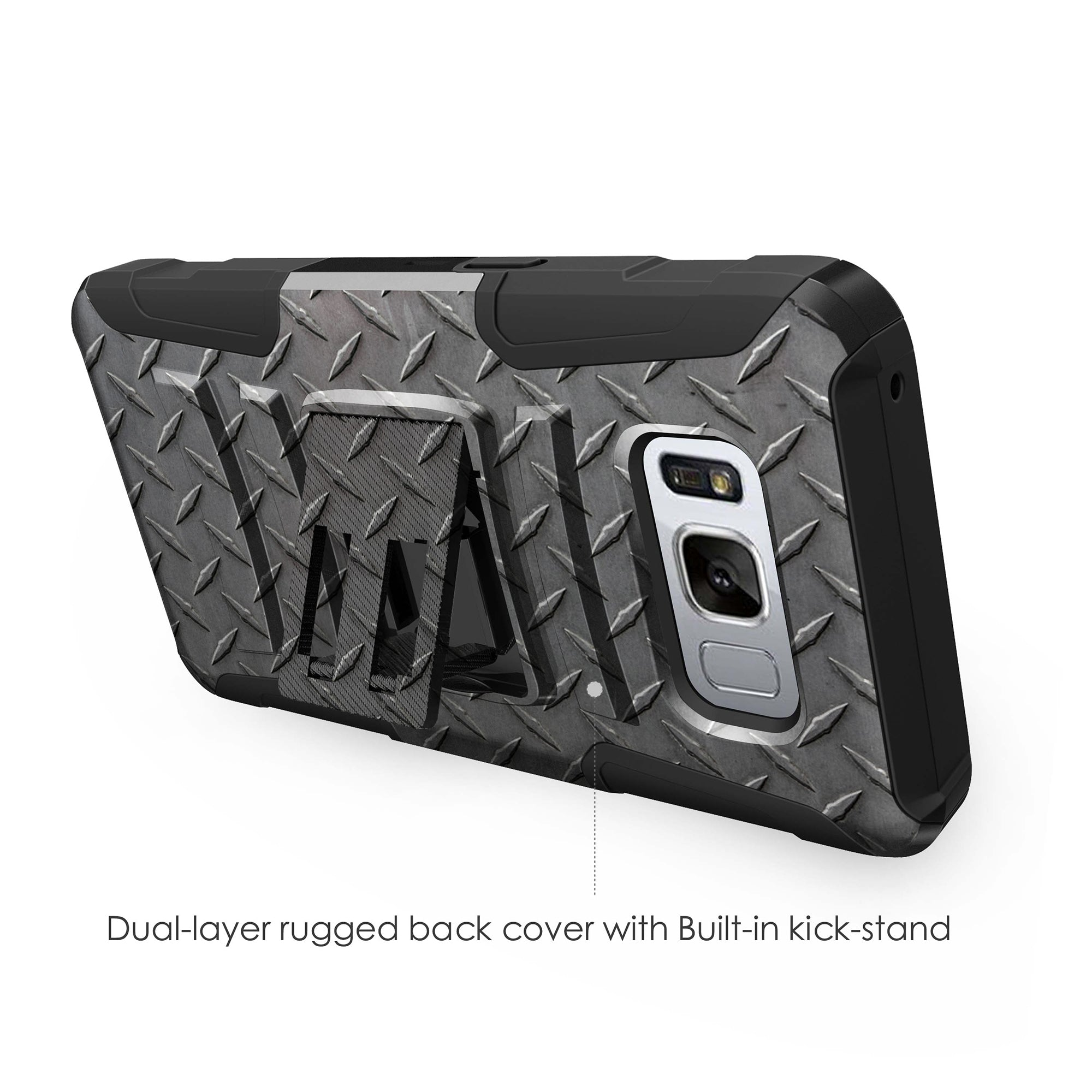 Case-for-Samsung-Galaxy-Note-5-Rugged-Dual-Layer-Holster-Combo-Stand thumbnail 23