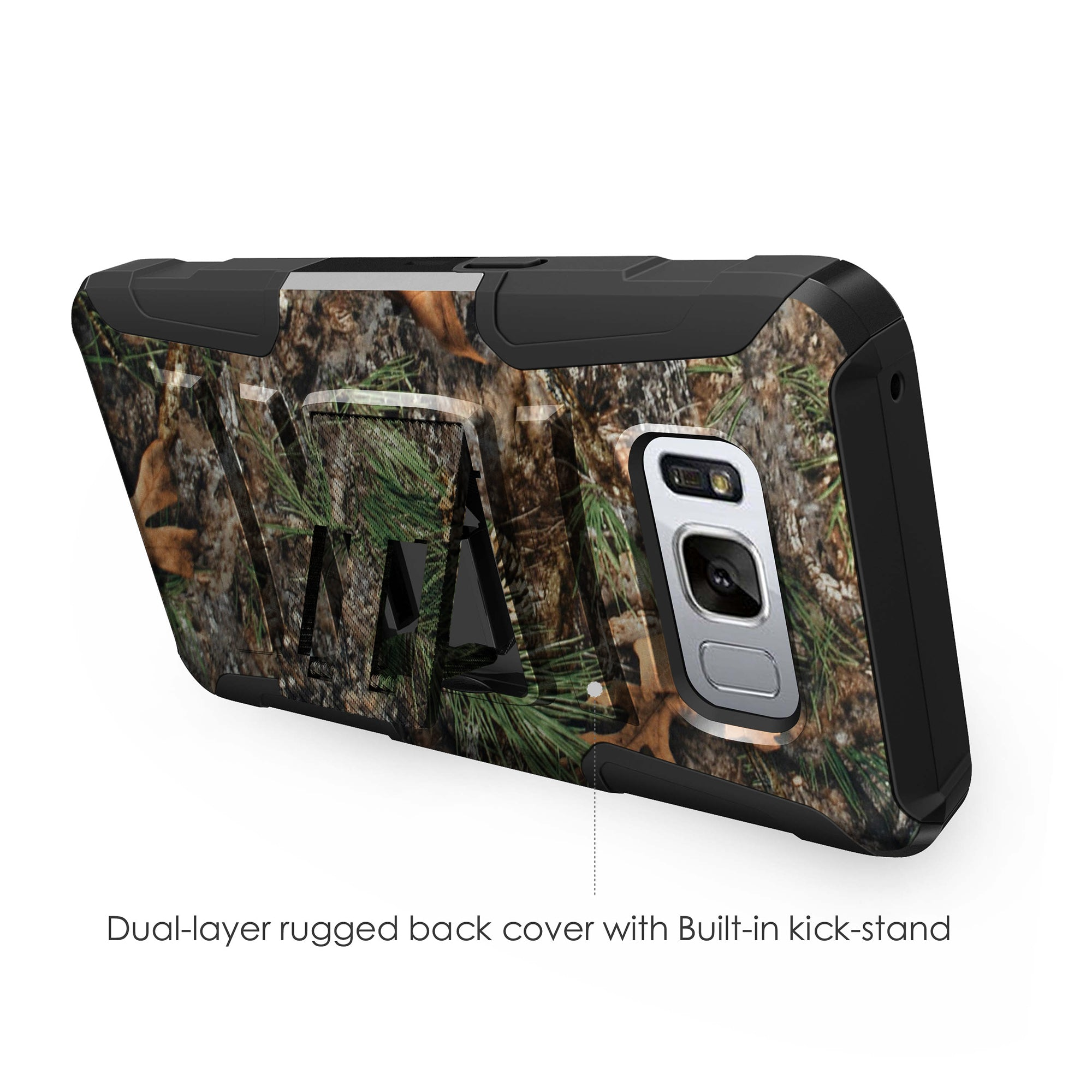 Case-for-Samsung-Galaxy-Note-5-Rugged-Dual-Layer-Holster-Combo-Stand thumbnail 26