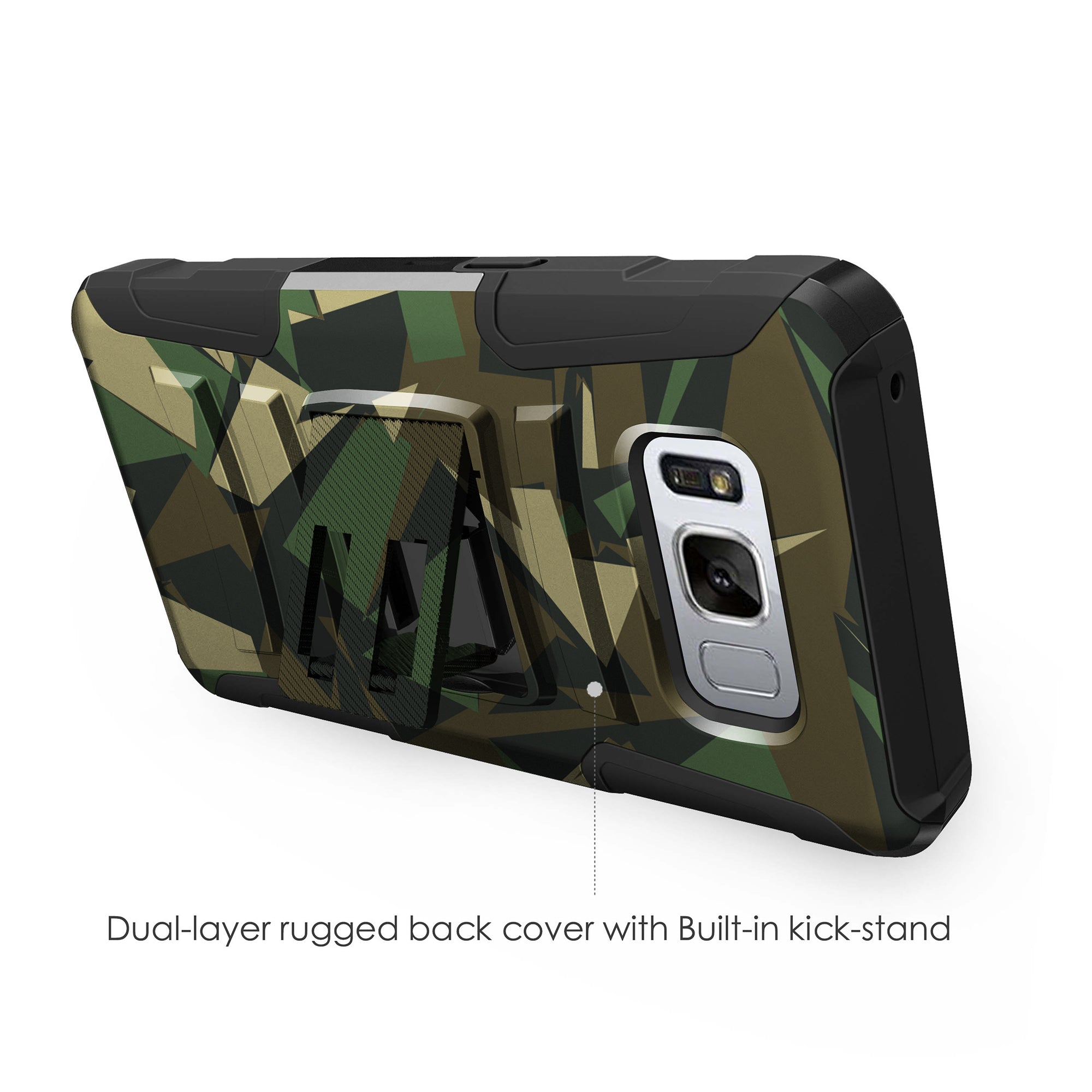 Case-for-Samsung-Galaxy-Note-5-Rugged-Dual-Layer-Holster-Combo-Stand thumbnail 29