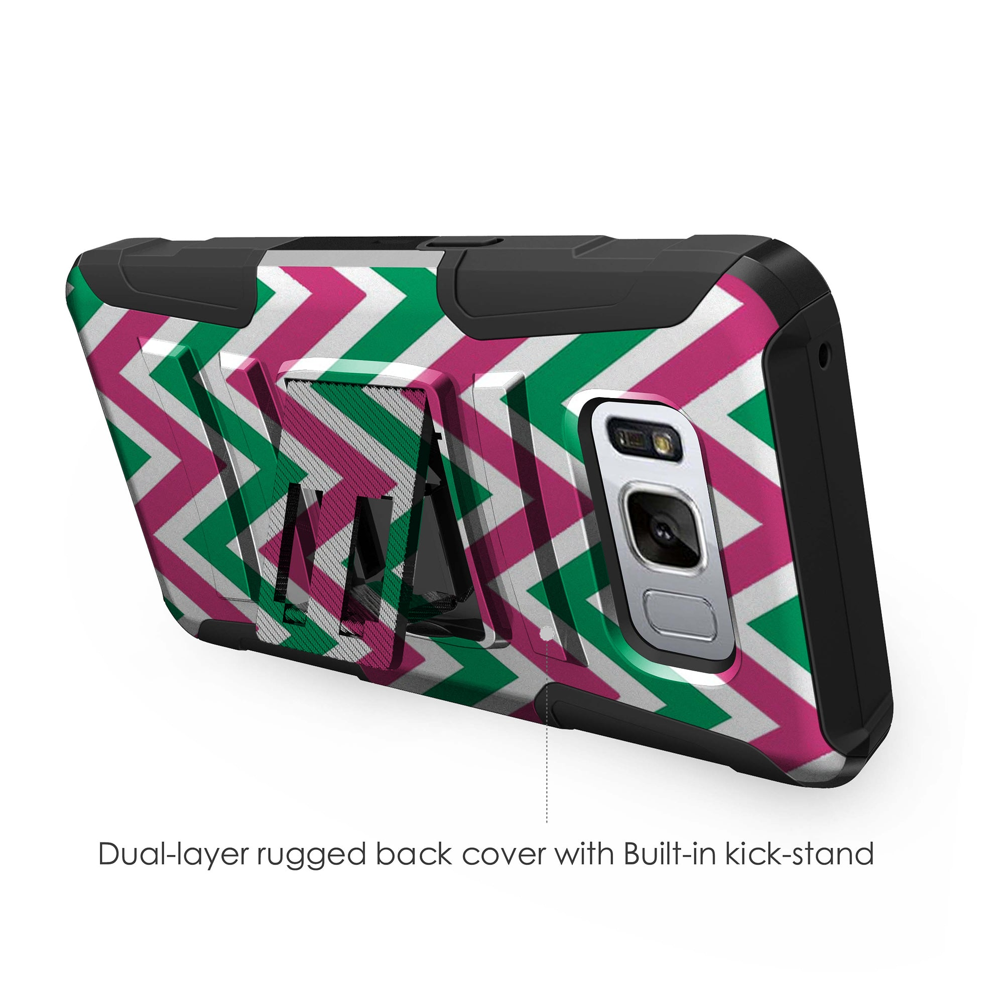 Case-for-Samsung-Galaxy-Note-5-Rugged-Dual-Layer-Holster-Combo-Stand thumbnail 41