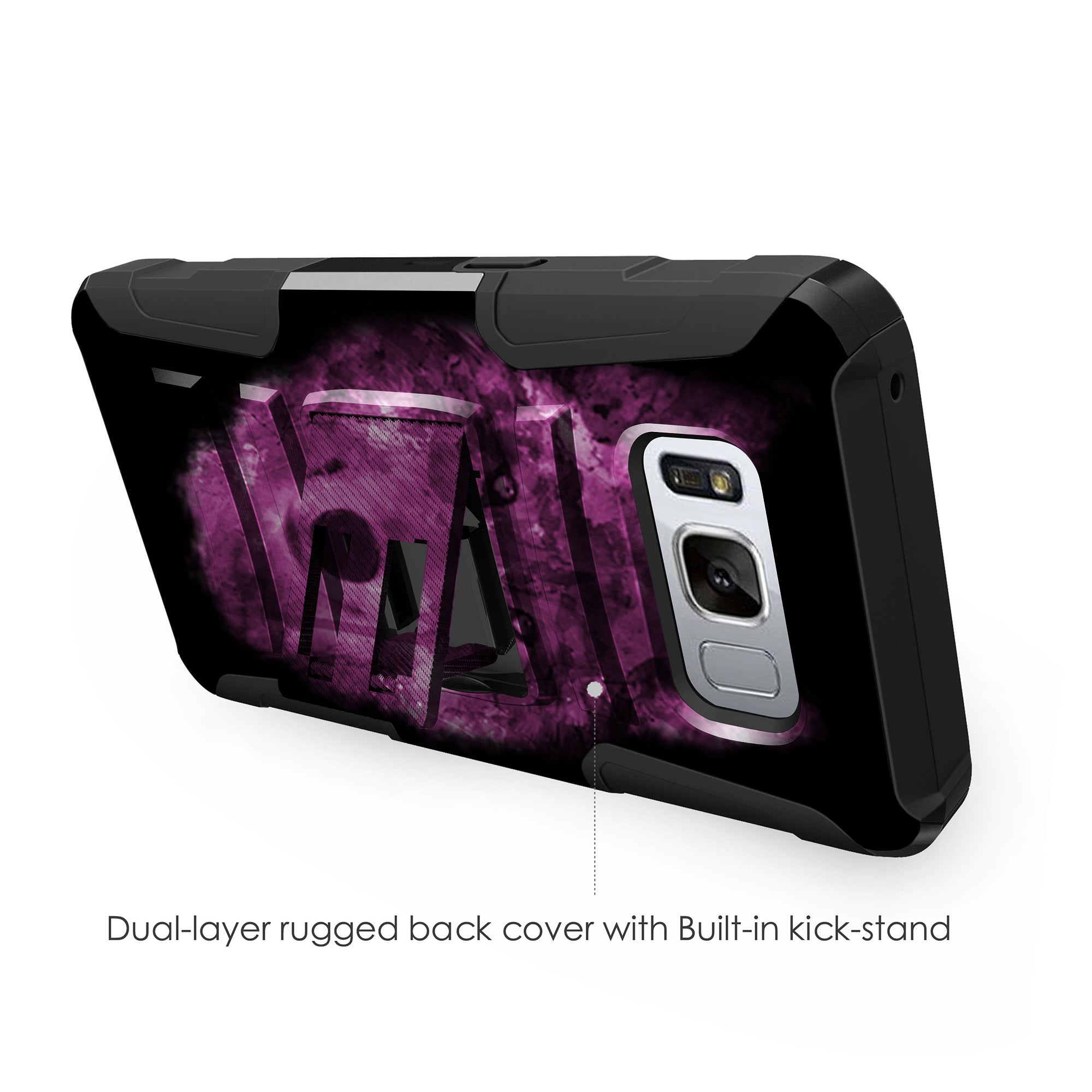 Case-for-Samsung-Galaxy-Note-5-Rugged-Dual-Layer-Holster-Combo-Stand thumbnail 44