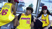 Tops - Jersey, Basketball Yellow with Royal and Maroon Accents
