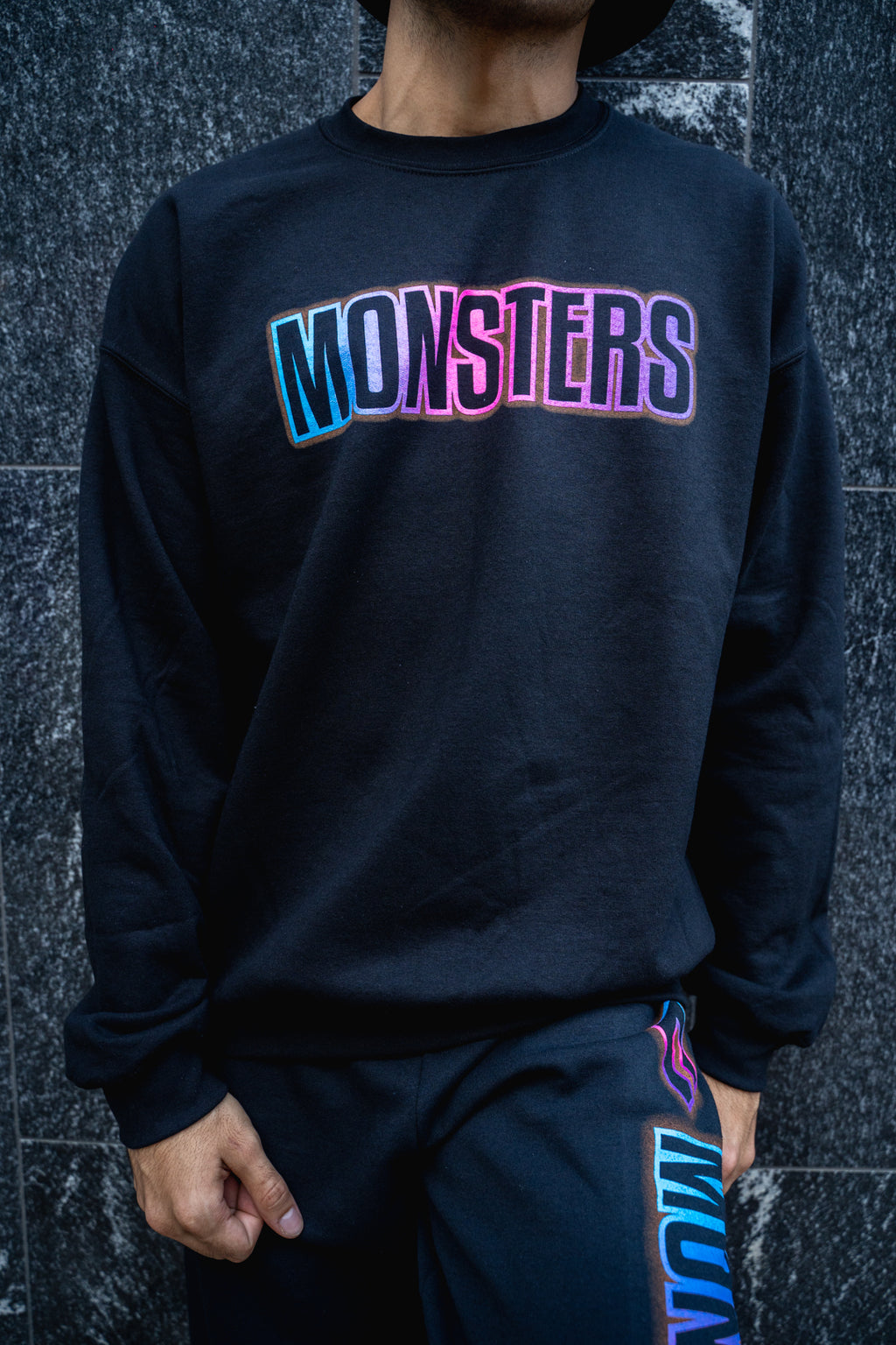 Neon Monsters Crewneck