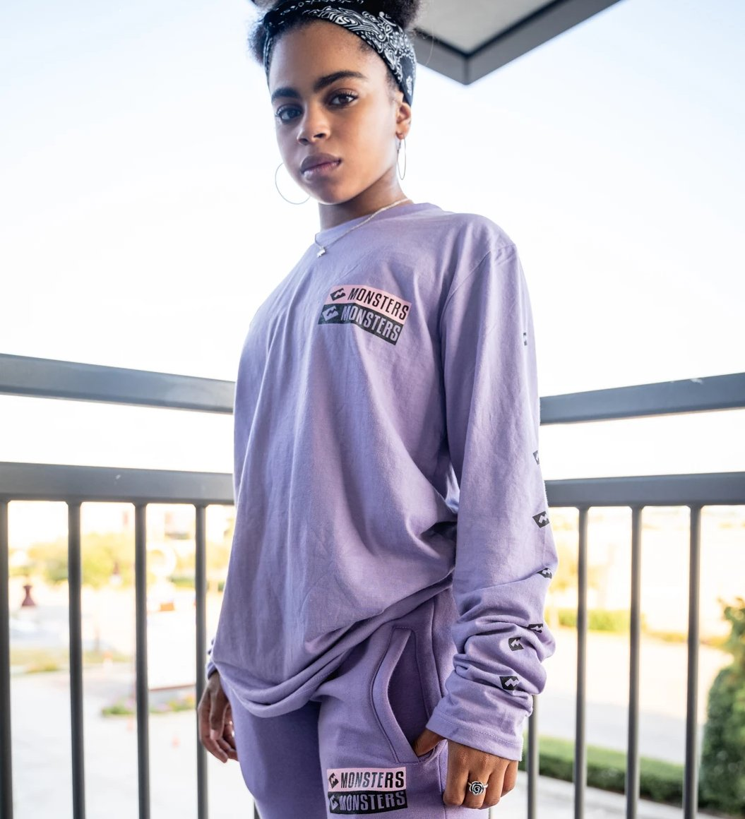 Lilac Long Sleeve