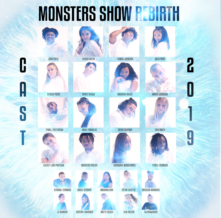 "The Monsters Show ""Rebirth"" DVD"