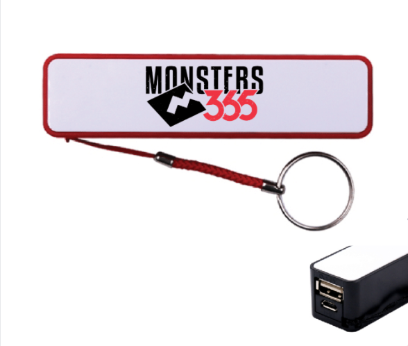 Monsters365 Keychain Power Bank